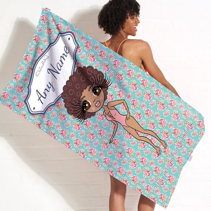 ClaireaBella Rose Beach Towel - Image 11