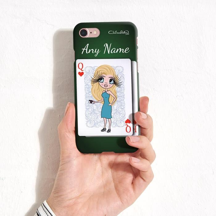 ClaireaBella Personalized Queen Of Hearts Phone Case - Image 7