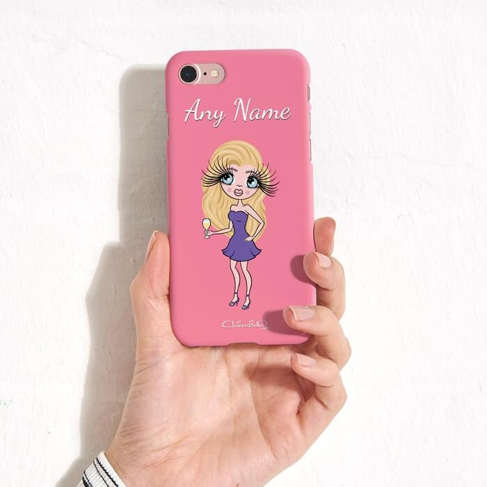 ClaireaBella Personalized Pink Phone Case - Image 7