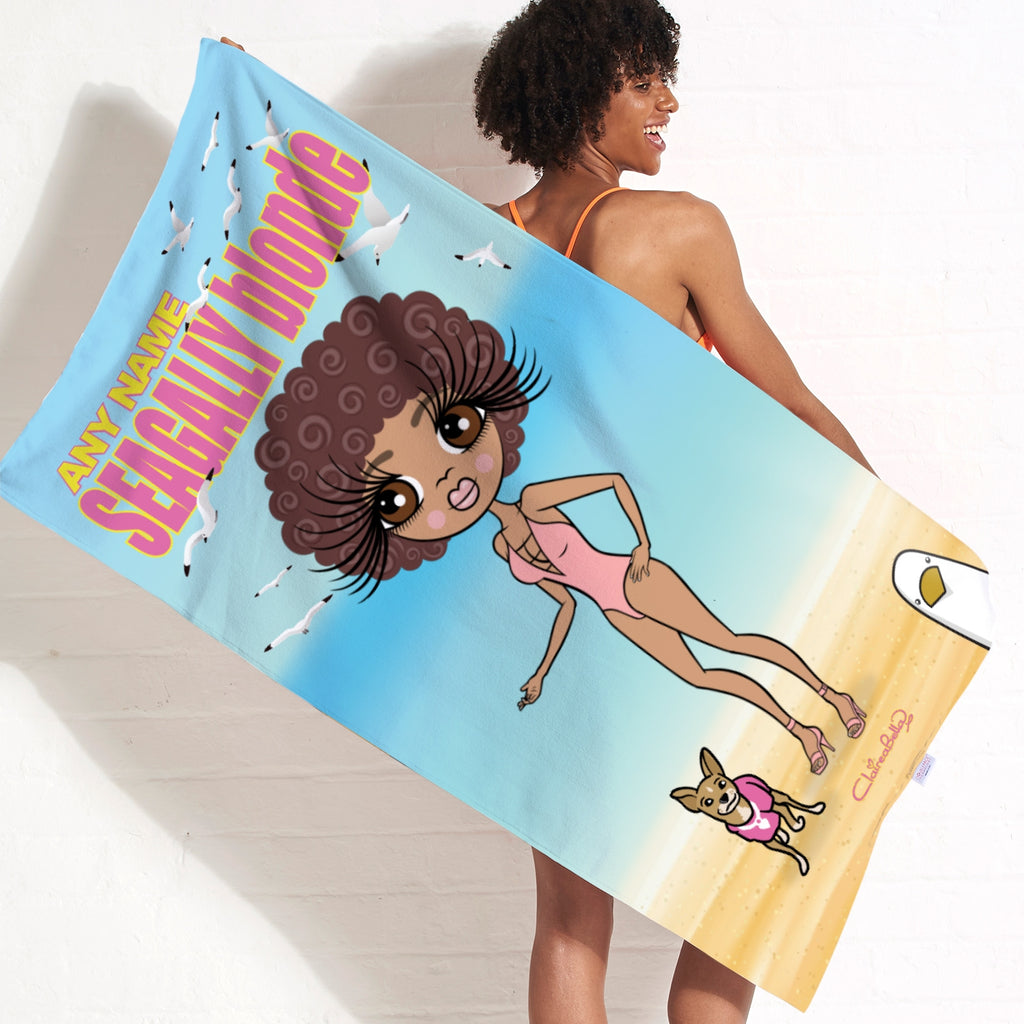 ClaireaBella Seagully Blonde Beach Towel - Image 2