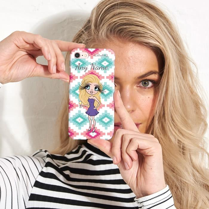 ClaireaBella Personalized Aztec Geo Phone Case - Image 1