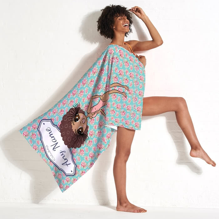 ClaireaBella Rose Beach Towel - Image 5