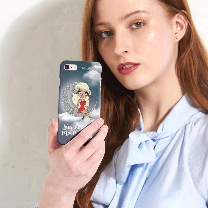 ClaireaBella Love You To The Moon Phone Case - Image 3