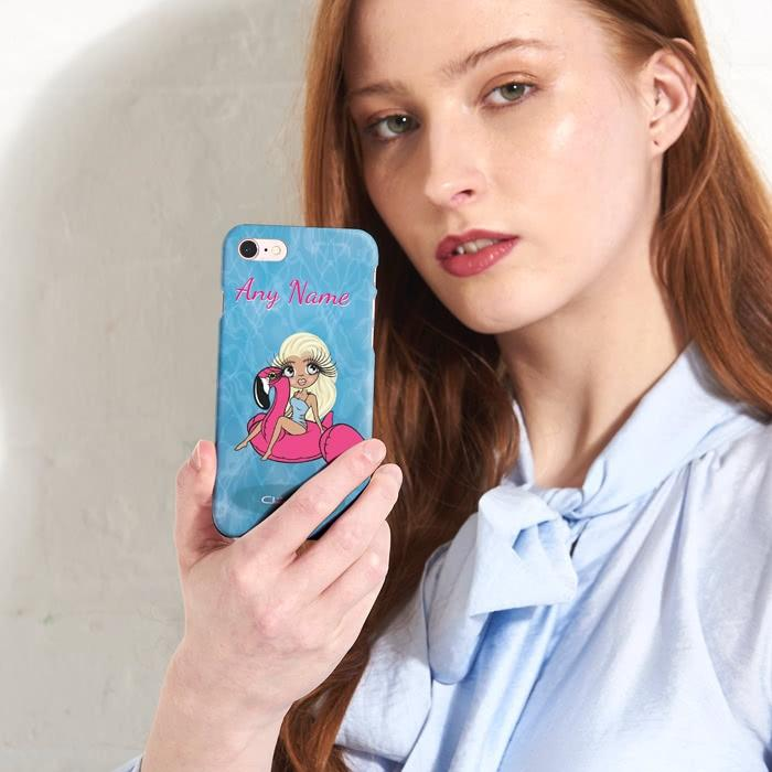 ClaireaBella Personalized Pool Side Phone Case - Image 6