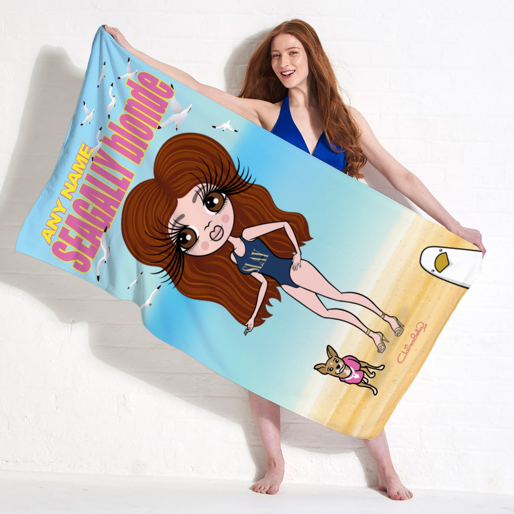 ClaireaBella Seagully Blonde Beach Towel - Image 3