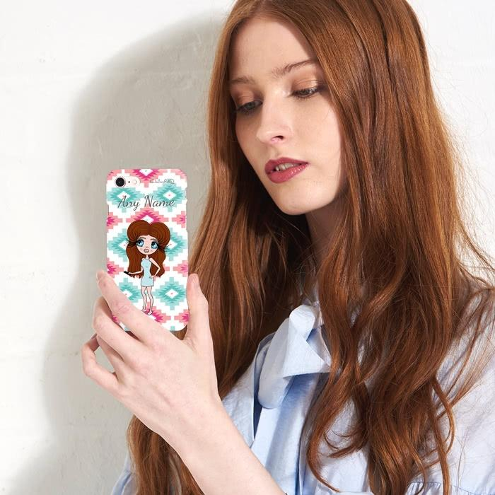 ClaireaBella Personalized Aztec Geo Phone Case - Image 7