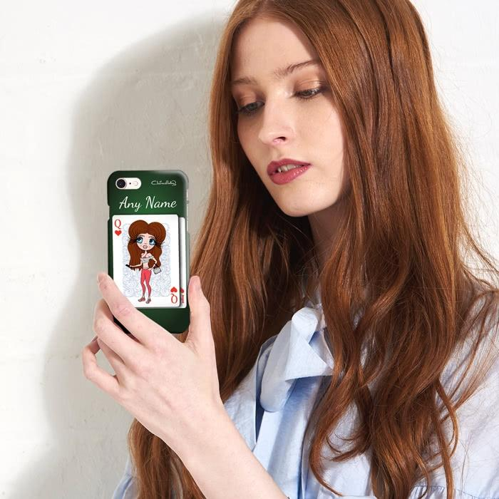 ClaireaBella Personalized Queen Of Hearts Phone Case - Image 4