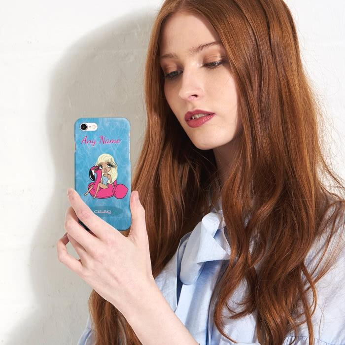 ClaireaBella Personalized Pool Side Phone Case - Image 3