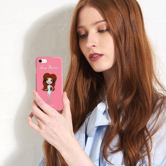 ClaireaBella Personalized Pink Phone Case - Image 4