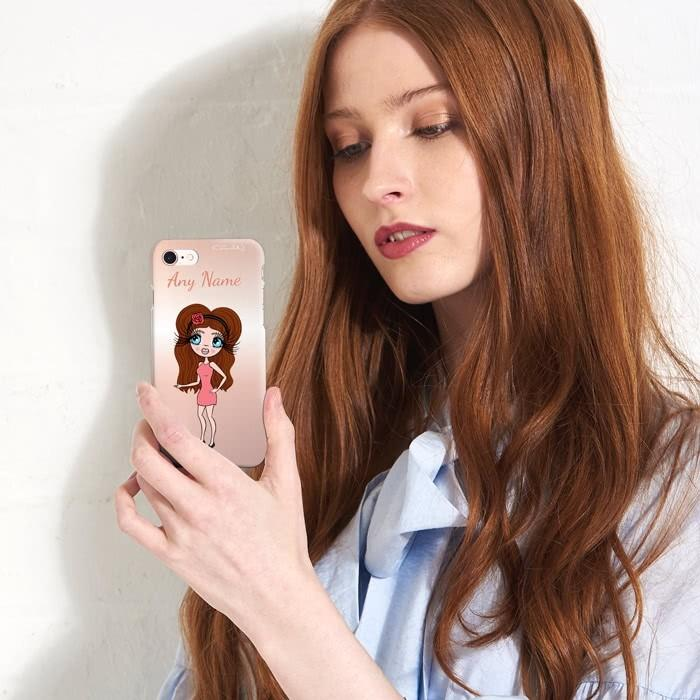 ClaireaBella Personalized Blush Phone Case - Image 4