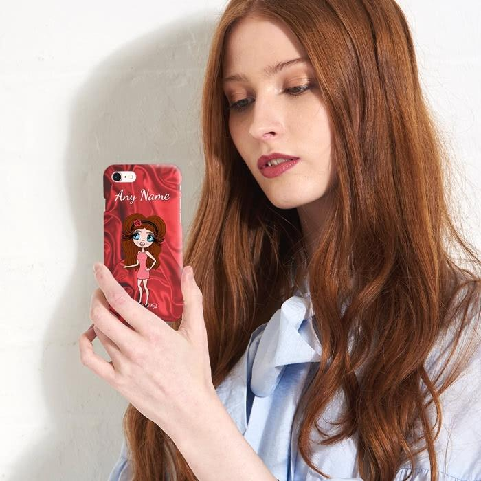 ClaireaBella Personalized Silky Satin Effect Phone Case - Image 5