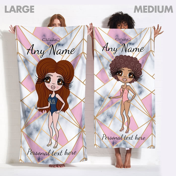 ClaireaBella Geo Beach Towel - Image 13