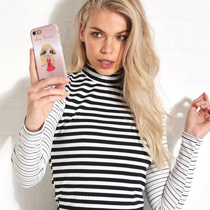 ClaireaBella Personalized Blush Phone Case - Image 2