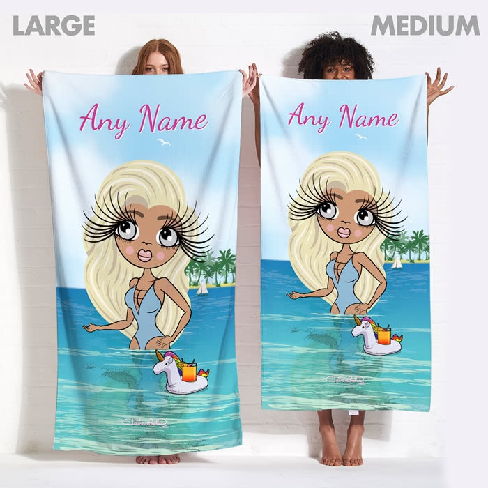 ClaireaBella Seaside Cocktails Beach Towel - Image 9