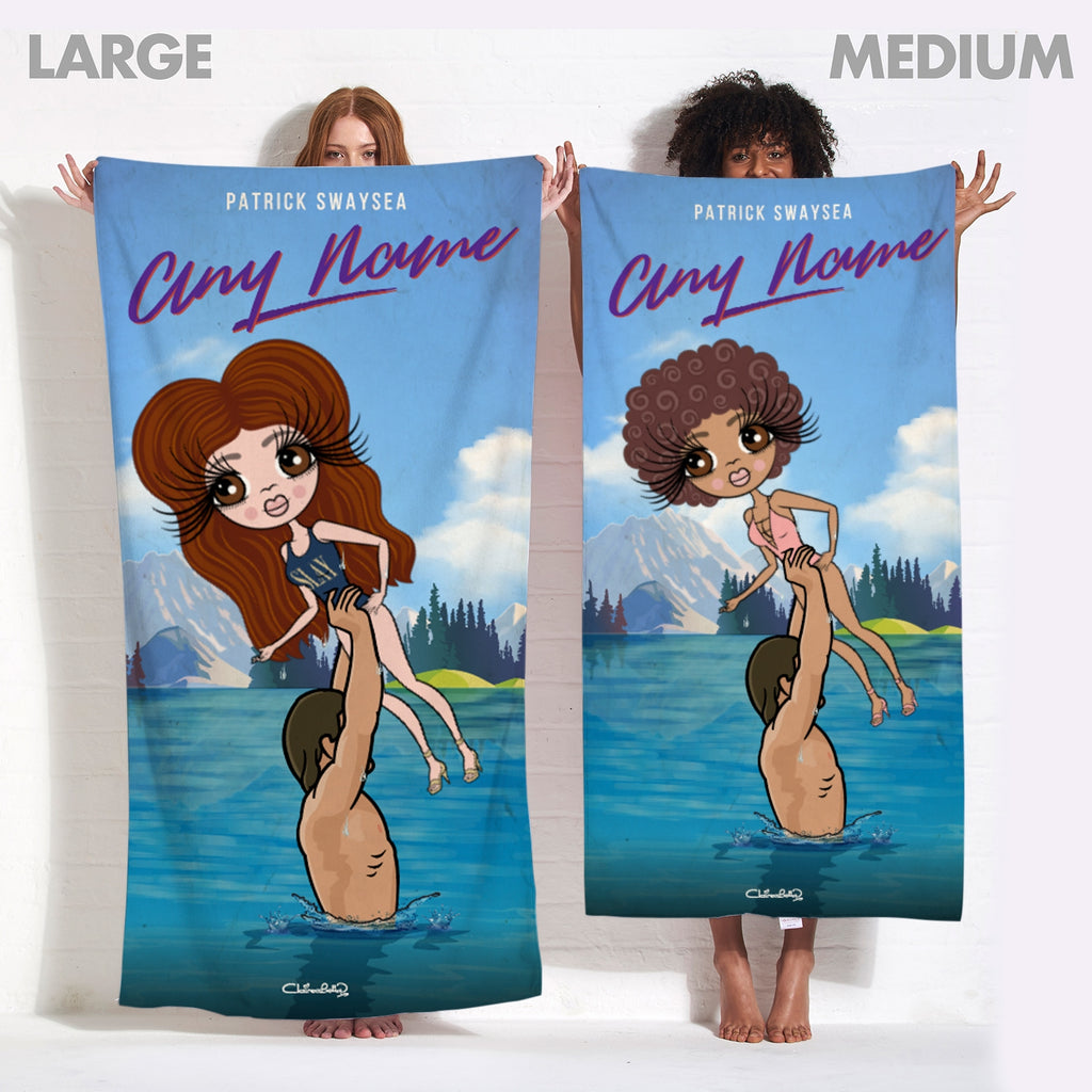 ClaireaBella Filthy Dancing Beach Towel - Image 3