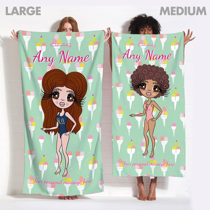 ClaireaBella Ice Cream Beach Towel - Image 13