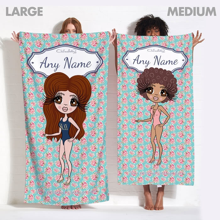 ClaireaBella Rose Beach Towel - Image 13