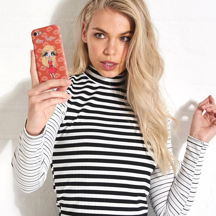 ClaireaBella Personalized Lip Print Phone Case - Image 5