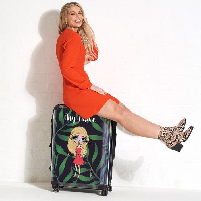 ClaireaBella Tropical Suitcase - Image 2