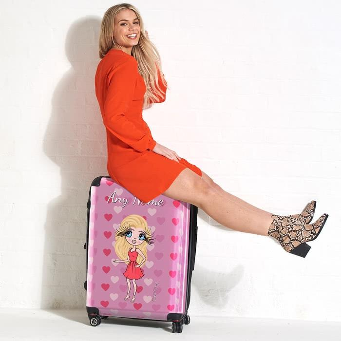ClaireaBella Heart Suitcase - Image 2