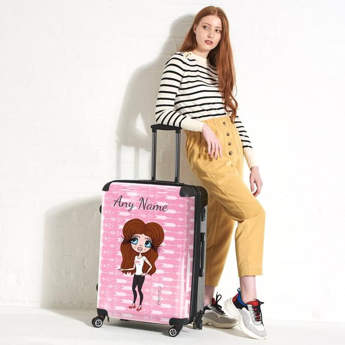 ClaireaBella Cupid's Arrow Suitcase - Image 4