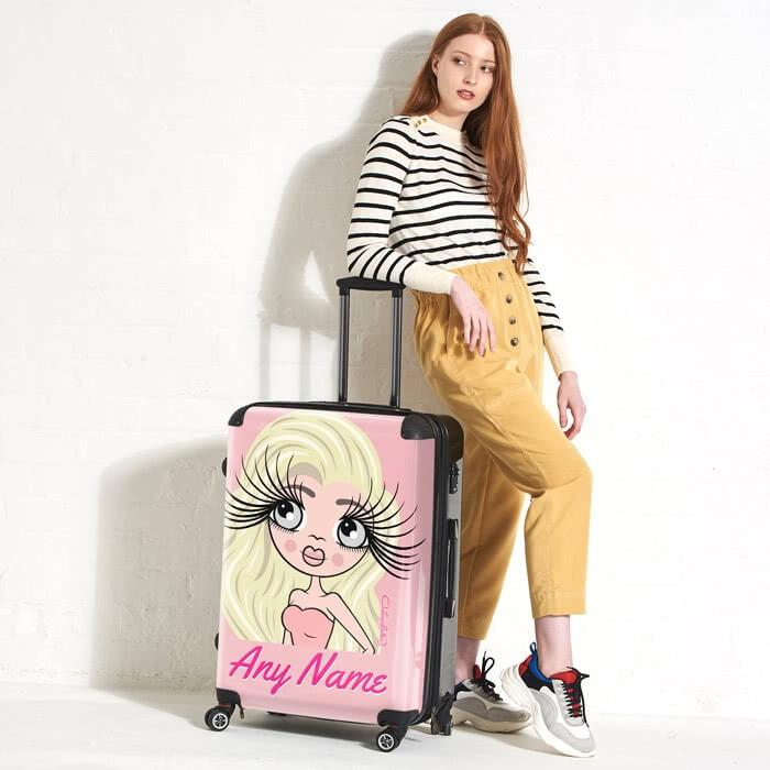 ClaireaBella Close Up Suitcase - Image 1