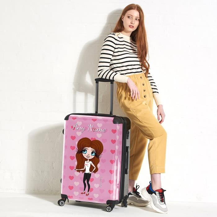 ClaireaBella Heart Suitcase - Image 3