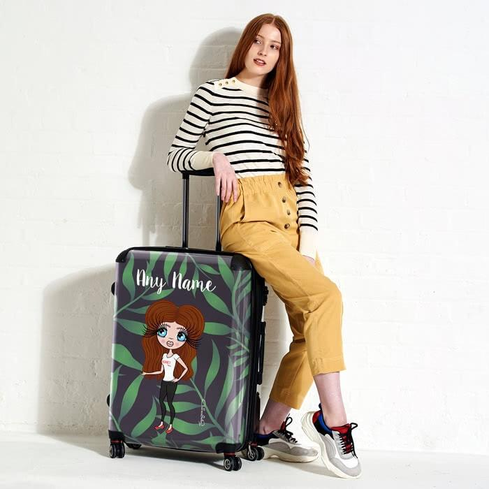 ClaireaBella Tropical Suitcase - Image 3