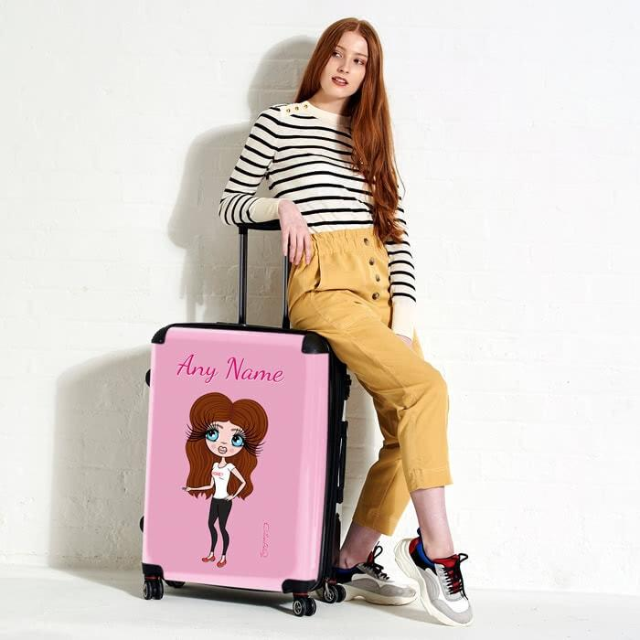 ClaireaBella Pastel Pink Suitcase - Image 5