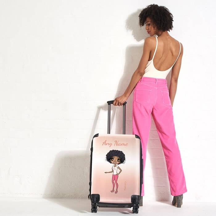 ClaireaBella Blush Suitcase - Image 1