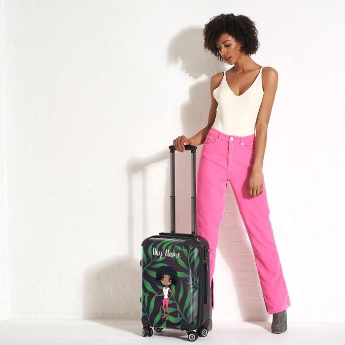 ClaireaBella Tropical Suitcase - Image 4