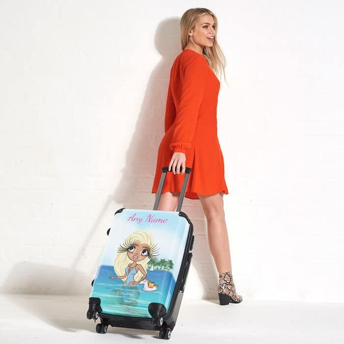 ClaireaBella Seaside Cocktails Suitcase - Image 1
