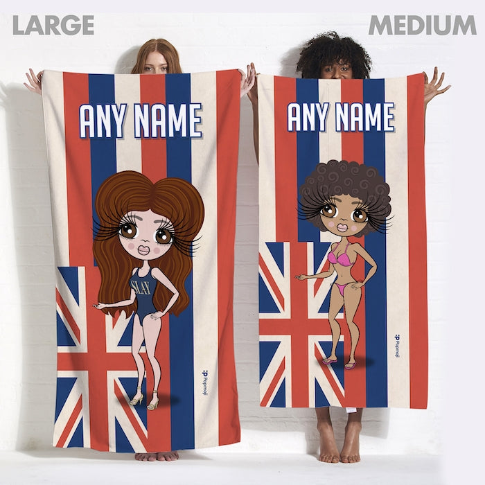 ClaireaBella Love Hawaii Flag Beach Towel - Image 6