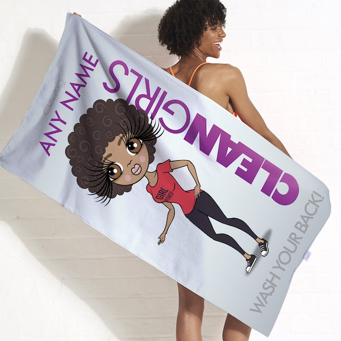 ClaireaBella Clean Girls Beach Towel - Image 3