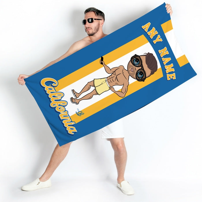 MrCB California Beach Towel - Image 1