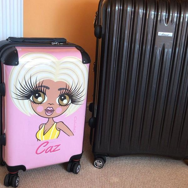 ClaireaBella Close Up Suitcase - Image 8
