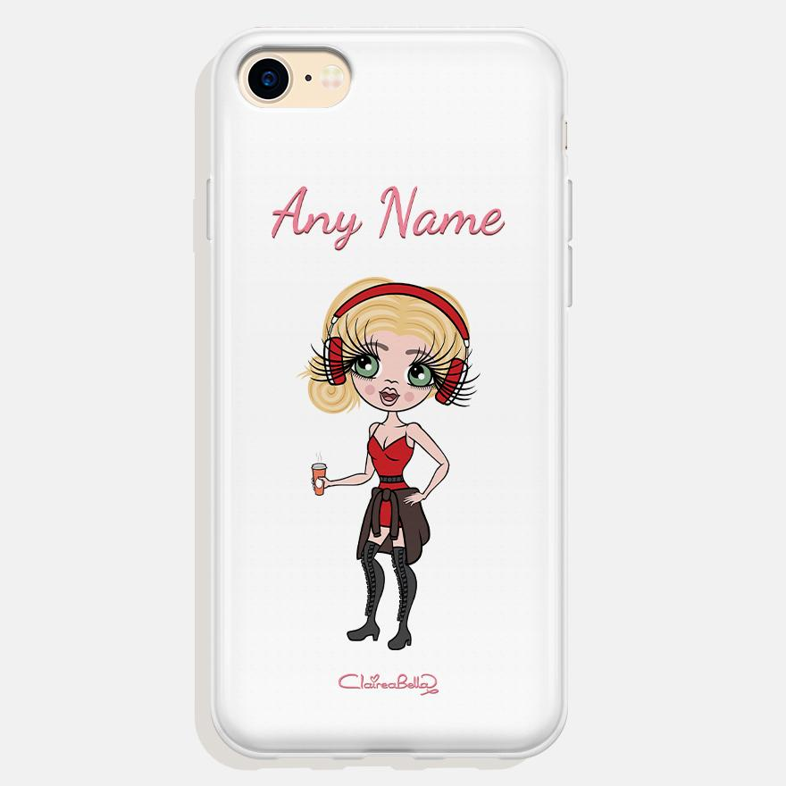 ClaireaBella Personalized White Phone Case - Image 0