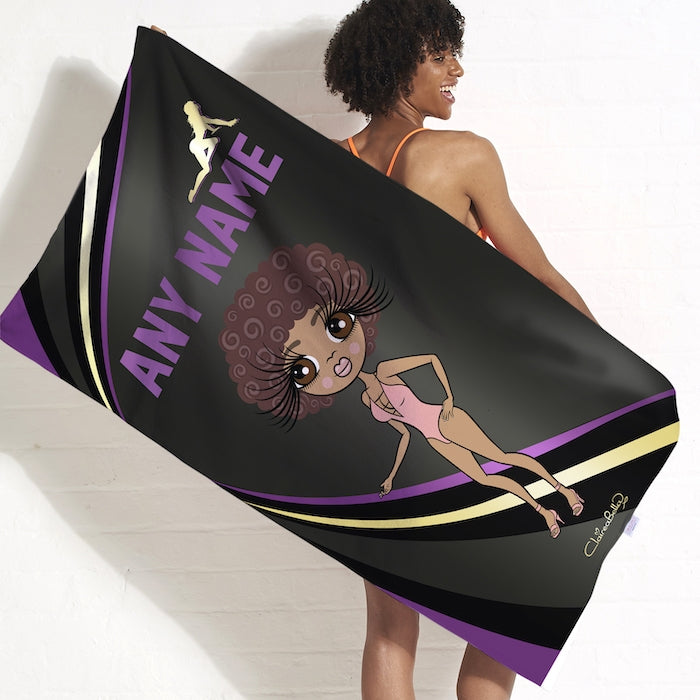 ClaireaBella Dark Fruits Beach Towel - Image 3