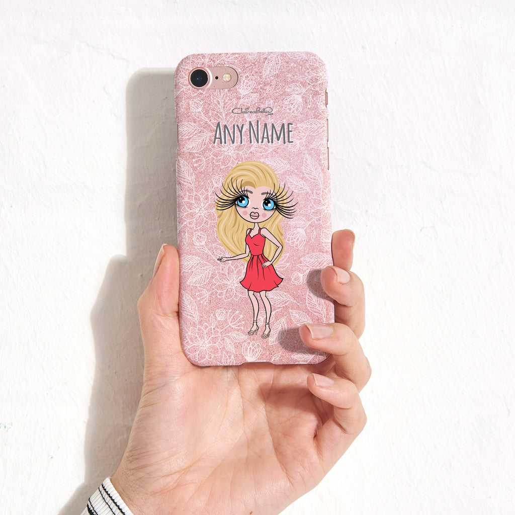 ClaireaBella Flower Pattern Phone Case - Image 1