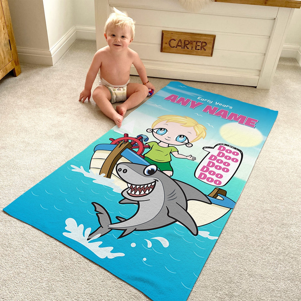Early Years Baby Shark Beach Towel - Image 3