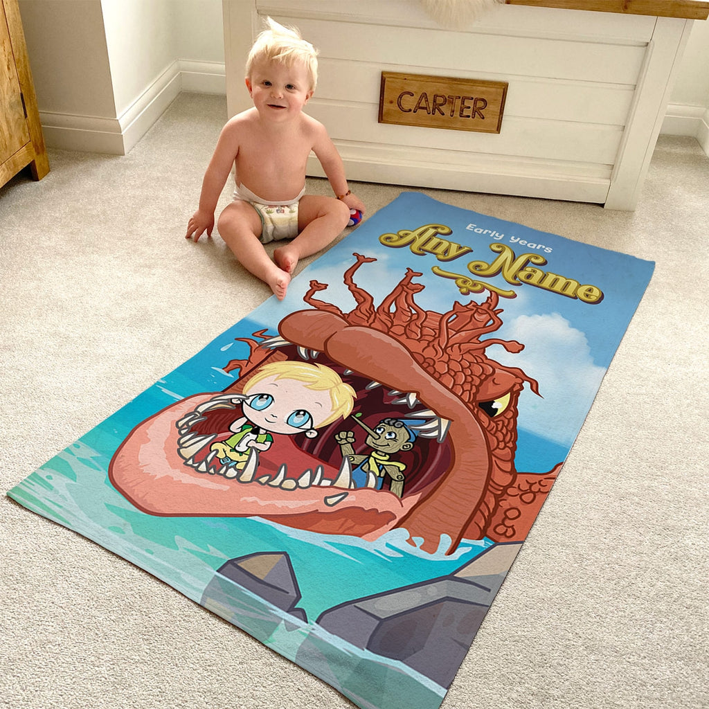 Early Years Big Fish Beach Towel - Image 4