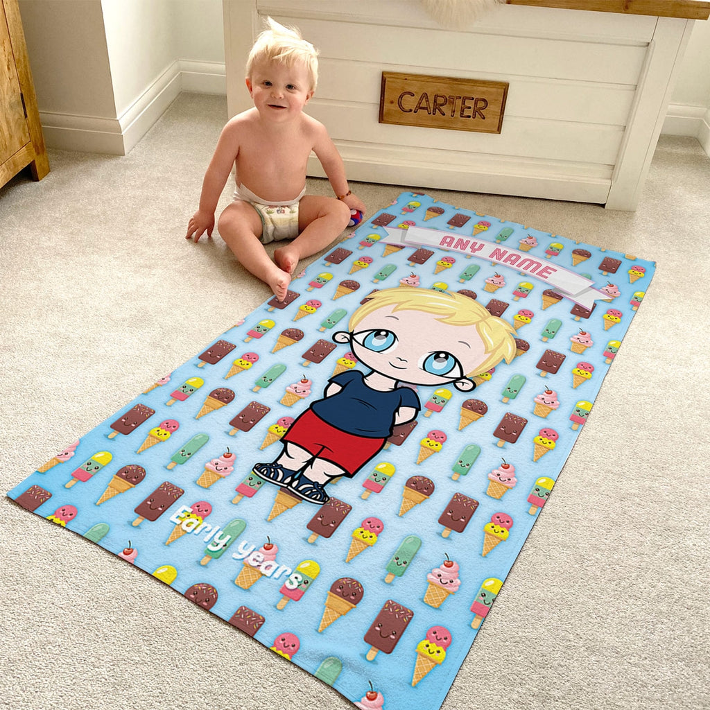 Early Years Ice Cream Beach Towel - Image 5