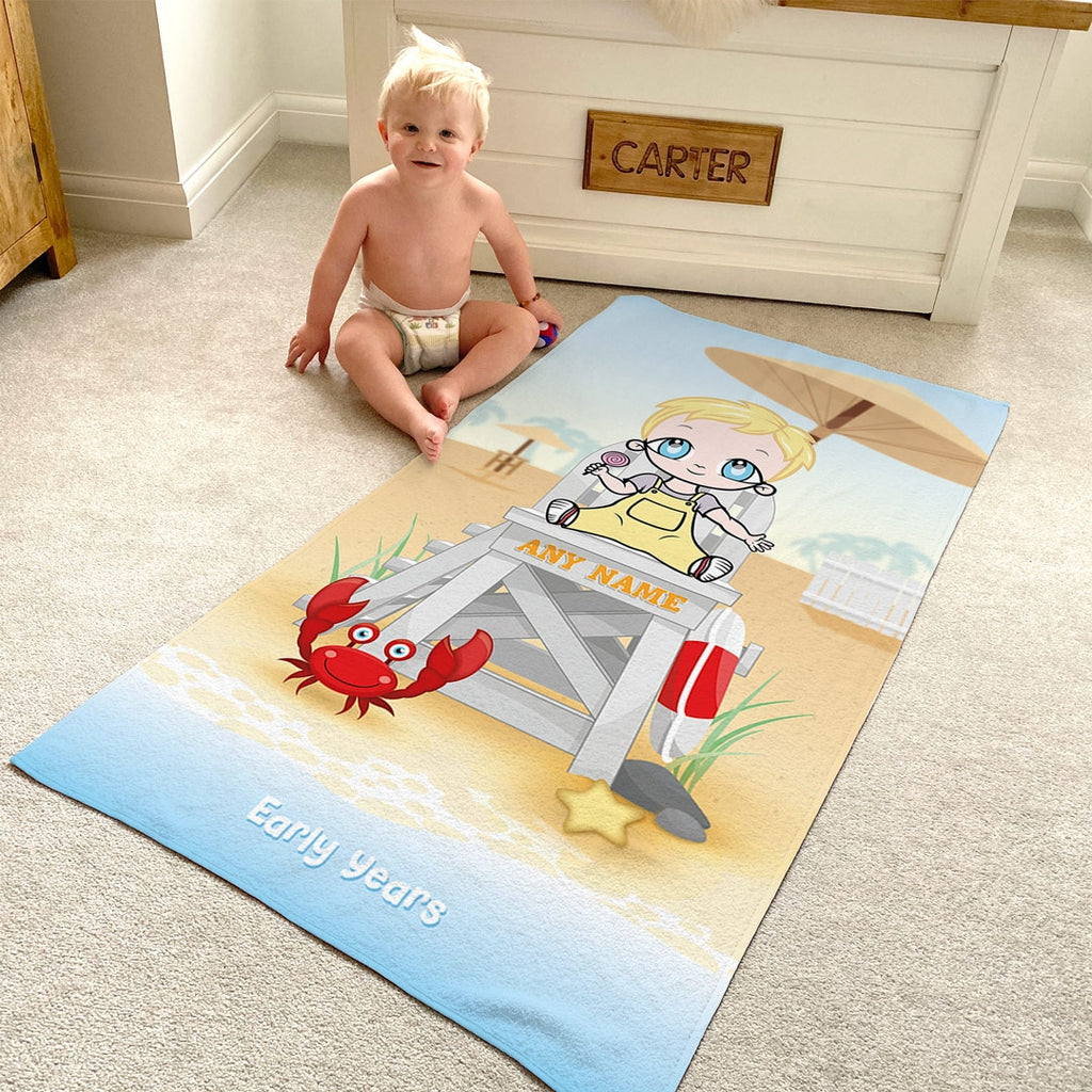 Early Years Life Guard Beach Towel - Image 4
