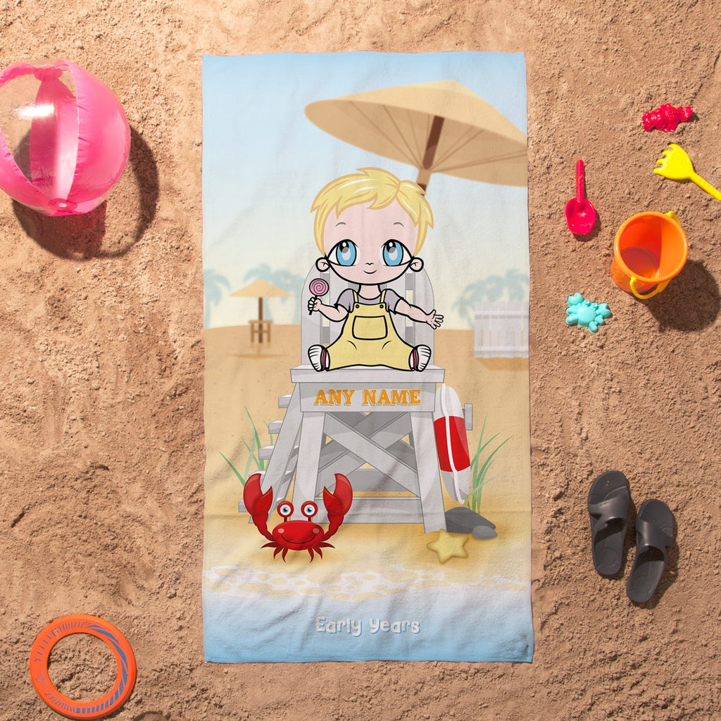 Early Years Life Guard Beach Towel - Image 6