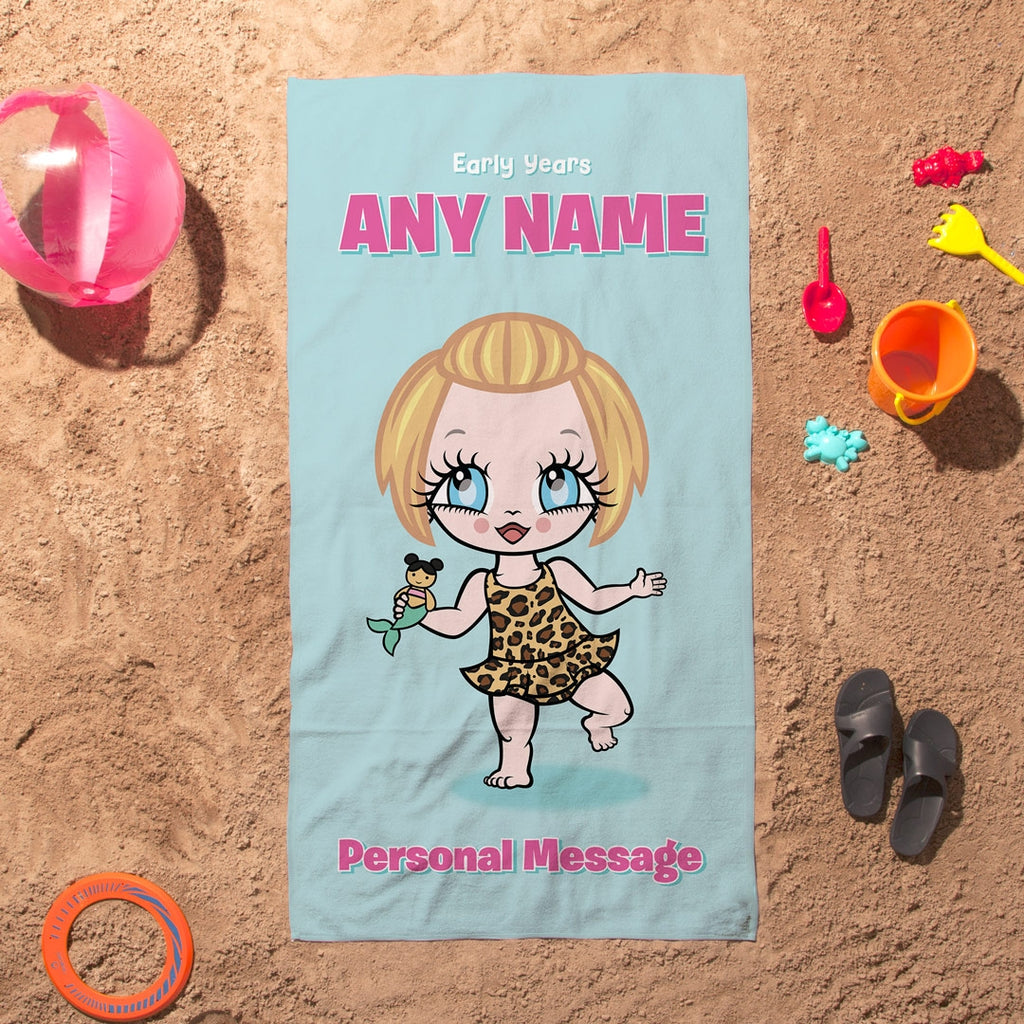 Early Years Mint Beach Towel - Image 3