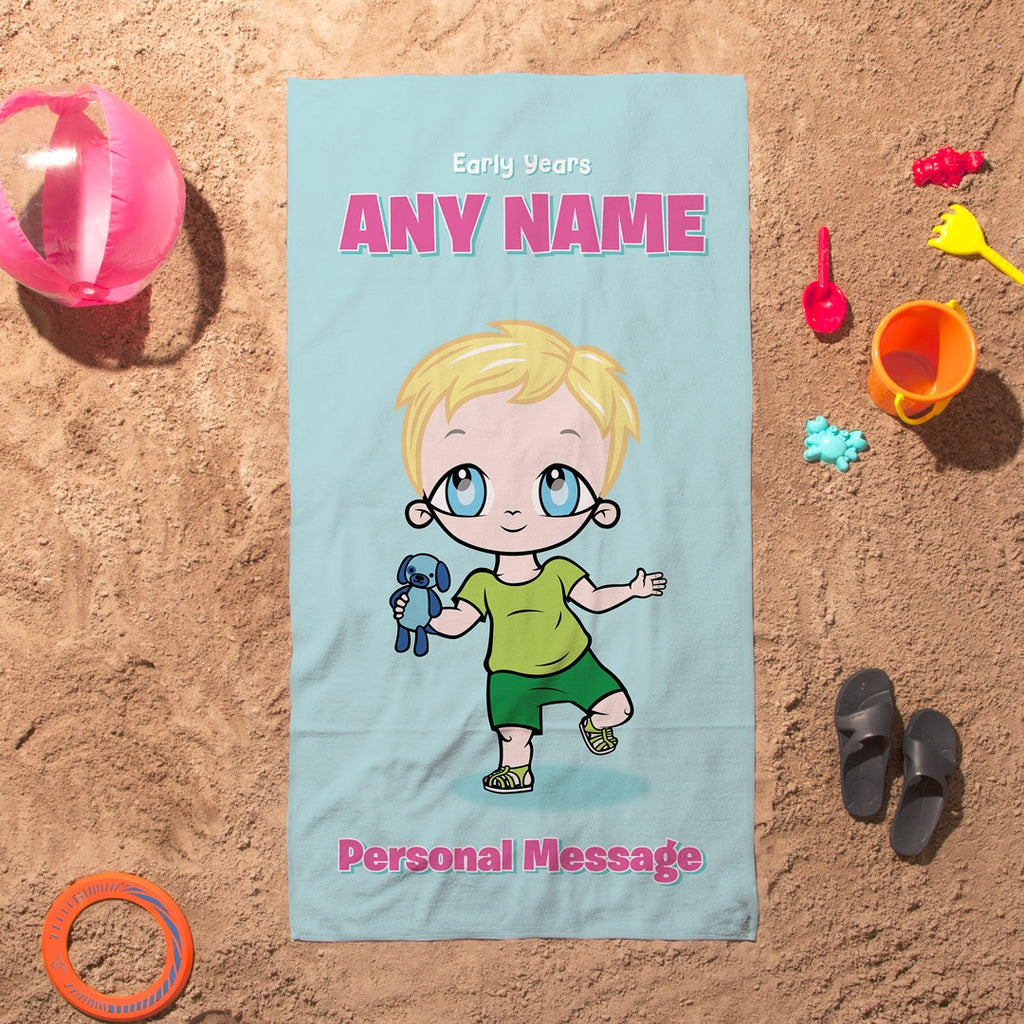 Early Years Mint Beach Towel - Image 5