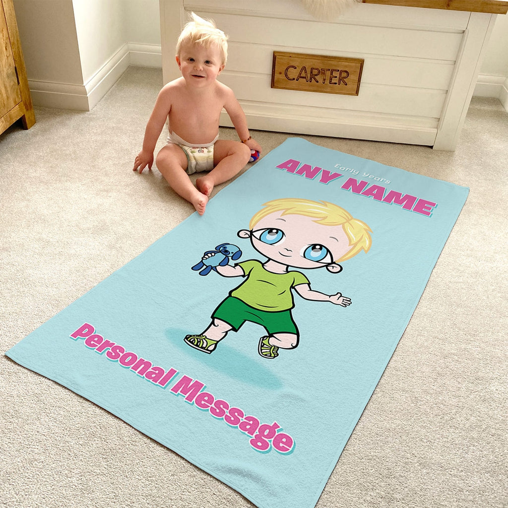 Early Years Mint Beach Towel - Image 2