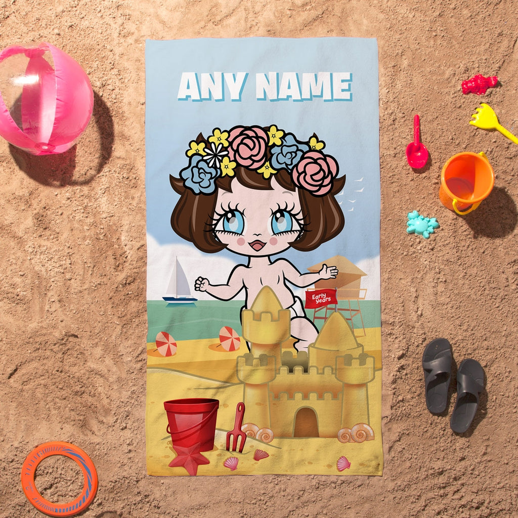 Early Years Sandcastle Fun Beach Towel - Image 4