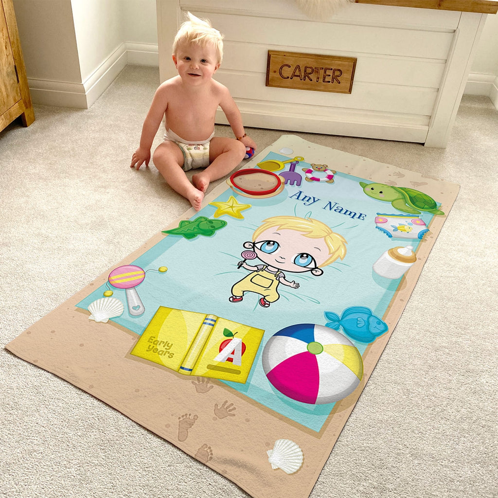 Early Years Sunbathing Fun Beach Towel - Image 4