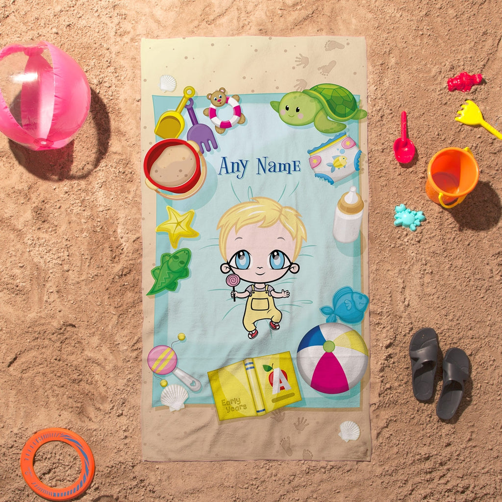 Early Years Sunbathing Fun Beach Towel - Image 6